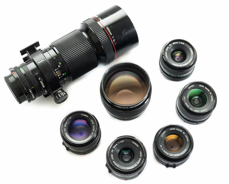 Clayton Combe Director DP Canon FD lenses