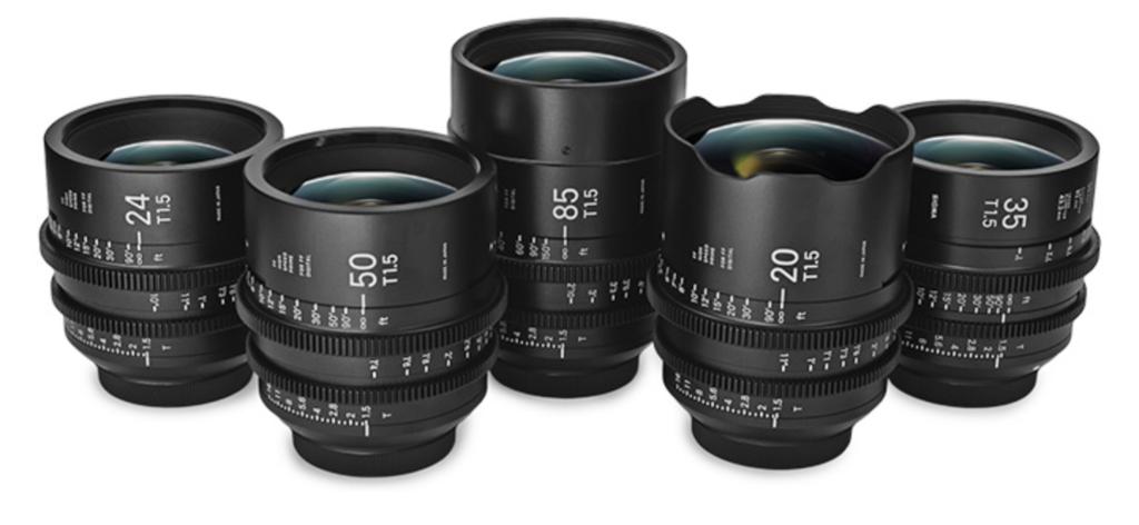 Clayton Combe Director DP Sigma Cine Primes lenses